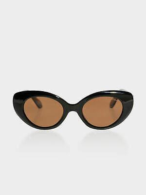Bond Eye New Bondeye Womens Campbell Sunglasses In Black Sunglasses Cat EyeSunglasses