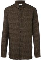 Givenchy logo print shirt - men - Cotton - 40