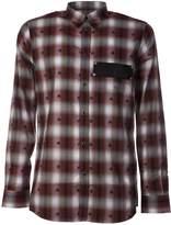 Givenchy Checked Star Print Shirt