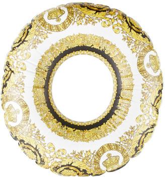 Versace Gold Crete de Fleur Inflatable Pool Float