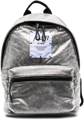 McQ Swallow Logo Patch Backpack
