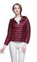 CFR Ultra Light Weight Down Jacket Packable Puffer Eider Down Coat ,S USPS Post