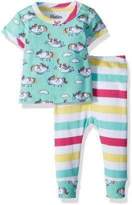 Hatley Baby Girls' Mini Short Sleeve Pyjama Sets