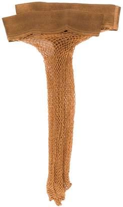 Wolford Twenties Fishnet Knee High socks