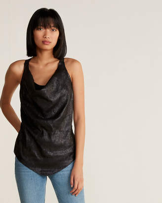 RVN Sequin Double Layered Tank