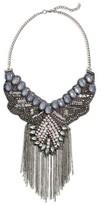Cara Women's Beaded Bib Necklace