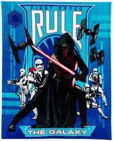 Star Wars Episode VII The Force Awakens Kylo Ren Throw Blanket