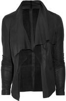 DAY Birger et Mikkelsen Day Ortensia draped leather jacket