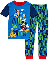 Disney Collection 2-Pc. Short-Sleeve Cotton Pajama Set