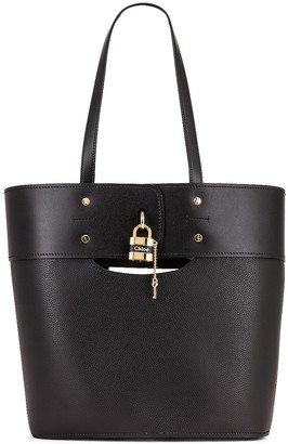 Chloé Medium Aby Tote in Black | FWRD