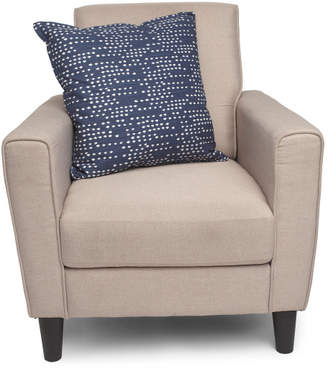 Made In Usa 22x22 Destiny Linen Look Pillow