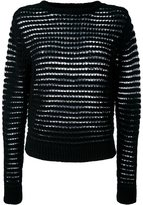DKNY open knit jumper