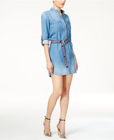 GUESS Aubrey Cotton Denim Shirtdress