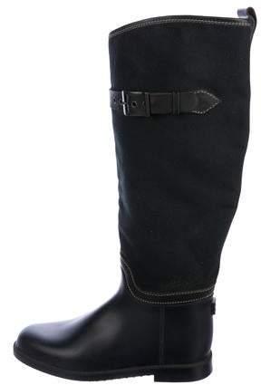 Chloé Canvas Knee-High Boots
