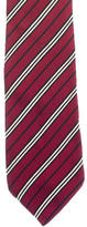 Burberry Striped Silk Tie