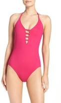 LaBlanca Women's La Blanca Caged Strap One-Piece Swimsuit