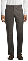 Zanella Wool Checkered Parker Trousers