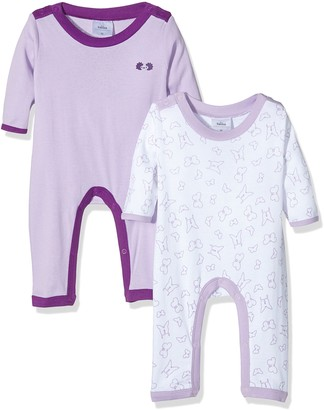 Twins Baby Girls Sleepsuit pack of 2