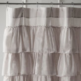 Pier 1 Imports Ruffled Dove Shower Curtain