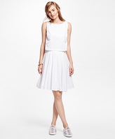Brooks Brothers Cotton Eyelet Dress
