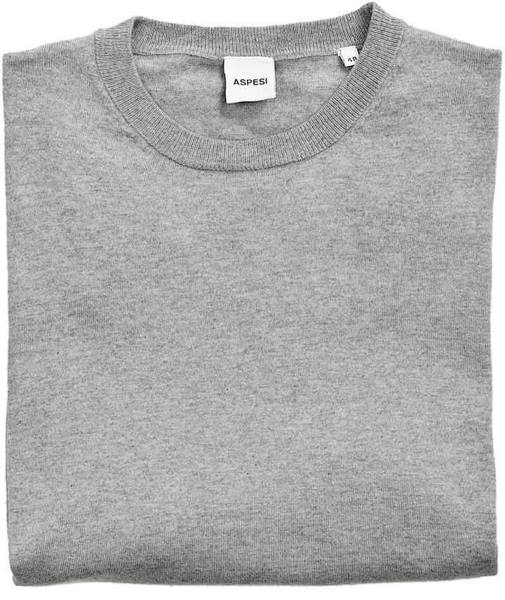 Alberto Aspesi Men's Crew Knit Sweater