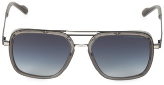Cutler And Gross 58MM Gradient Square Sunglasses