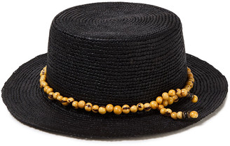 Sensi Bead-embellished Toquilla Straw Panama Hat