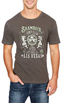 Lucky Brand Shamrock Poker Short-Sleeve Crewneck Graphic Tee