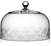 William Yeoward Crystal Country Garland Cake Dome, 10.5