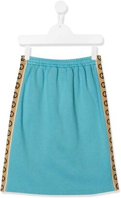 Gucci Kids Tracksuit Skirt