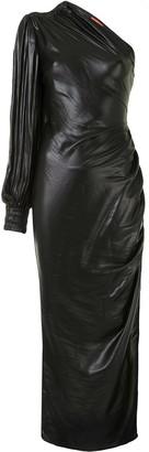 Manning Cartell Australia Asymmetric Draped Maxi Dress