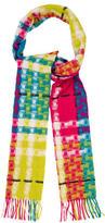 Burberry Wool Basketweave Scarf