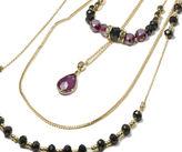 Oasis Three Row Beaded Necklace