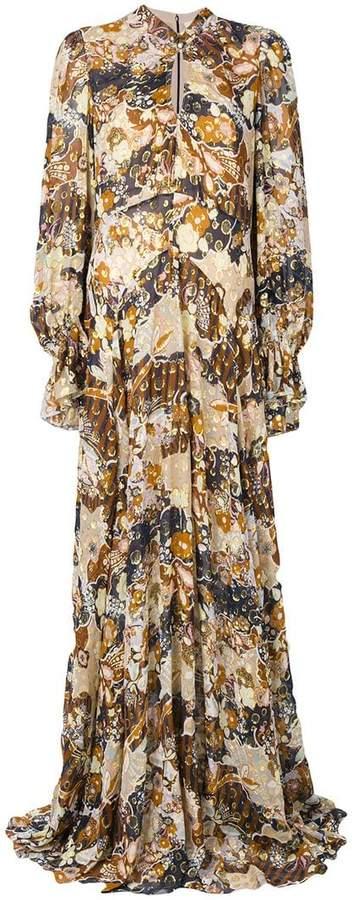 Chloé floral maxi dress