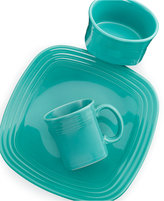 Fiesta Square Turquoise 3-Piece Place Setting