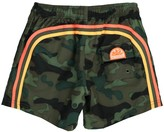 Sundek Camouflage Bande Three-Coloured Swim Shorts