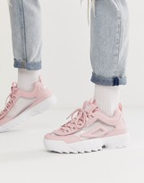 Disruptor II sneakers in clear pink