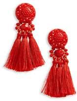 Topshop Beaded Tassel Earrings
