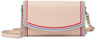 Kate Spade leather eva wallet on a chain