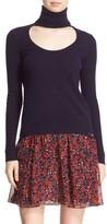 Diane von Furstenberg Women's 'Talassa' Wool & Cashmere Turtleneck Sweater