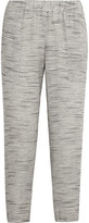 Hatch The Market Knitted Track Pants - Light gray