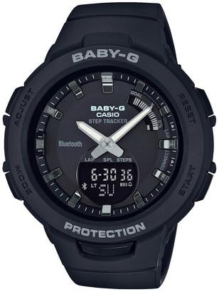 Baby-G BSAB100-1A Bluetooth Step Tracker Black Watch