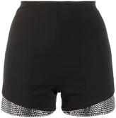 Philipp Plein crystal embellished shorts