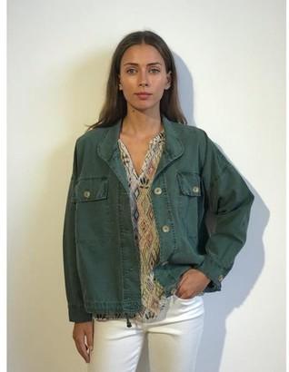 Velvet Nicola Oversized Khaki Jacket - XS