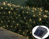 QCLED 100led Solar String Light Christmas Decoration (Warm white)