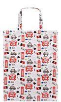 Harrods Medium Red Bus Shopper Bag