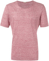 Massimo Alba crew neck T-shirt - men - Linen/Flax - L