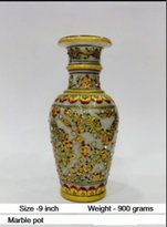 Radha Krishna Shop Traditional marbles vases made using finest quality Makrana Marble
