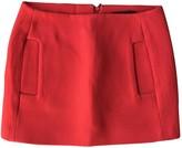 Maje Orange Wool Skirts