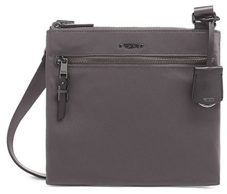 Tumi Tula Leather-Trim Crossbody Bag